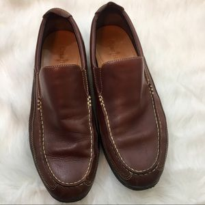 Cole Haan Size 10.5 Brown Leather Loafers